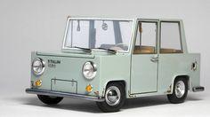 Sastamalalainen teollinen muotoilija Eero Kumanto teki Fingerpori-auton – tältä näyttää Stalin 1200 Kombi!