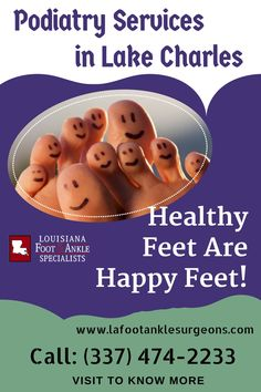 Podiatric Surgery Specialties in Lake Charles