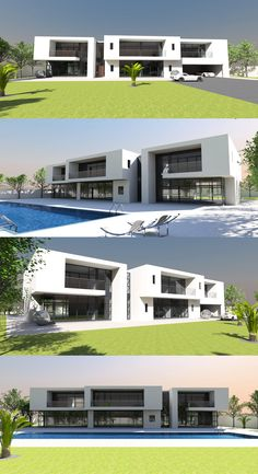 Contemporary house plan designs for the self-builder. We offer totally unique and inspiring modern designs for stunning new contemporary residences, to give your dream home the best possible start. Home Design Plans, Plan Design, Maids Room, Contemporary House Plans, Reinforced Concrete, Cozy Bed, Luxurious Bedrooms, Built Ins, Luxury Bedding
