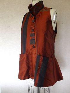 Vogue 8709 Marci Tilton made into a vest