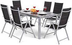 Záhradné sety – až 1 379 záhradných sedačiek a zostáv pre vás Ibiza, Outdoor Furniture Sets, Outdoor Decor, Aluminium, Conference Room, Home Decor, Patio, Table, Ad Home