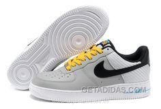 reputable site c26c2 da288 Nike Air Force 1 Low Olympic Gray Negro Amarillo (Nike Air Force 1 Hombre)  Free Shipping, Price 71.15 - Adidas Shoes,Adidas Nmd,Superstar,Originals