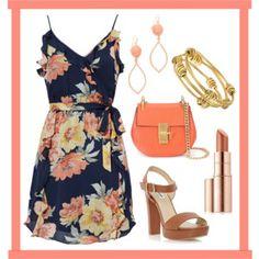 Peach and Ruffles