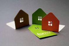 Cartão de visitas para arquitetos. Architect PD