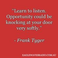 Frank Tyger business quote