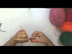Como unir 8 puntas. Arteterapia Aliwen. YouTube God's Eye Craft, Gods Eye, Diy Videos, String Art, Creative Crafts, Something To Do, Dream Catcher, Projects To Try, Weaving