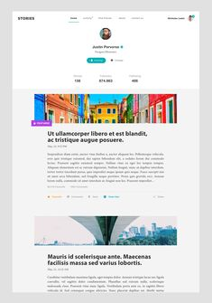 189 best web design article layout images on pinterest in 2018