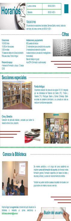 Guía de centro Biblioteca de Derecho parte interior (2007)