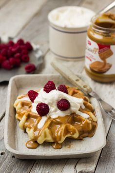This copycat waffle love recipe is the closest we've found to our favorite food truck waffles here in Utah!