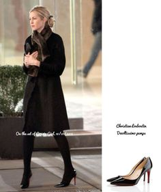 Lily Van der Woodsen_shoes