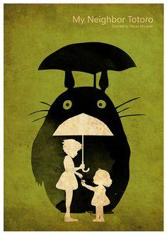 Hayao Miyazaki Vintage Poster Set - Laputa: Castle in the Sky, Princess Mononoke, My Neighbor Totoro Hayao Miyazaki, Studio Ghibli Films, Studio Ghibli Art, Castle In The Sky, Totoro Poster, Film Animation Japonais, Japanese Animated Movies, Girls Anime, Poster Series