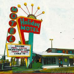 Ayline Olukman - Holiday Motel - Miami Highway
