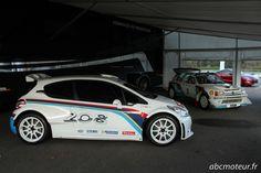 Peugeot 208 T16 et 205 T16