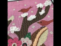 Ruching Petite Frosty Rays is really easy and gives a great fluffy effect on needlepoint canvas. I'm demonstrating on lulu mypinkturtle's Girl with Deer canv. Needlepoint Stitches, Needlepoint Canvases, Needlework, Camera Phone, Deer, Kids Rugs, Youtube, Embroidery, Dressmaking