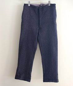 LILY1ST VINTAGE 1930-40'S FRENCH CORDUROY HUNTING TROUSERS http://floraison.shop-pro.jp/?pid=70612196
