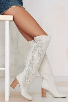 Sam Edelman Taylan Fringe Nubuck Boot | Shop Shoes at Nasty Gal!