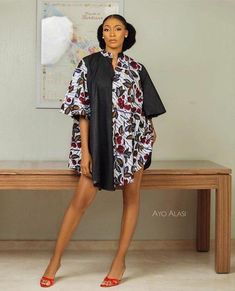 African Party Dresses, Short African Dresses, African Inspired Fashion, Latest African Fashion Dresses, African Print Dresses, African Print Fashion, Africa Fashion, Mode Kimono, African Attire