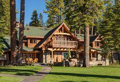 Laughing Waters - LakefrontTahoe City Vacation Rental   Tahoe Luxury Properties