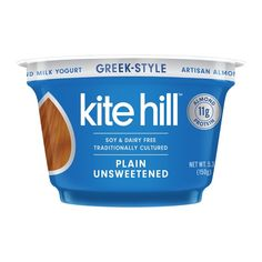 Buy Kite Hill Yogurt, Greek Style, Almond Milk, Unsweetened, Plain online and have it delivered to your door in as fast as 1 hour. Dairy Free Yogurt, Dairy Free Diet, Gluten Free, Lactose Free Options, Almond Milk Yogurt, Bristol Farms, Greek Style Yogurt, Food Map, Shopping List Grocery