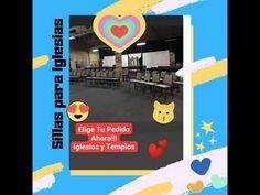 💗Atención Iglesias! y Templos 💗 Iglesias, Desktop Screenshot, Temples, Metal Furniture, Chairs, Mesas
