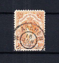 Nederland 1905 - Koningin Wilhelmina 'Bontkraag' - NVPH 80