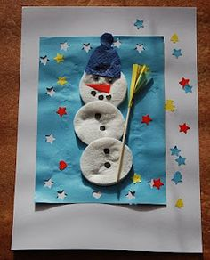 #vatovytampon - Sněhuláci