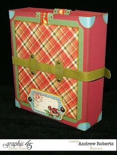 Christmas envelope photo folder 7