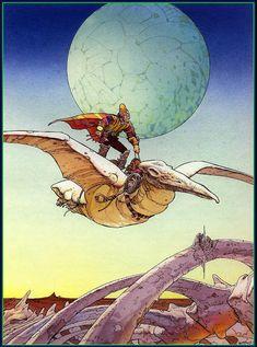 15 Ideas De Moebius Jean Giraud Ilustraciones Dibujos