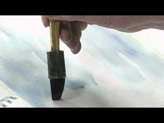 How to Paint a Winter Woods Scene in Watercolors, Part 1 - YouTube