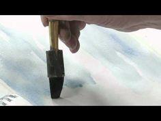 Chuck McLean paints a winter woods scene - Part 1 Watercolor Video, Watercolor Tutorials, Watercolor Techniques, Painting Tutorials, Watercolor Landscape, Art Techniques, Art Tutorials, Watercolor Paintings, Painting Videos