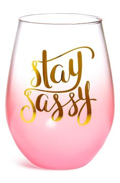 Unique Wine Gifts for the Wine Connoisseur Pink Wine Glasses, Stemless Wine Glasses, Wine Tumblers, Wine Glass Sayings, Virginia Wineries, Wine Time, Cricut Creations, Wine Gifts, Wine Drinks