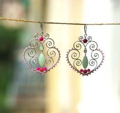 Ummagumma earrings by SabiKrabi on Etsy