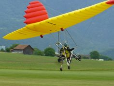 Interesting aircraft... could be very difficult to control in gusty conditions.