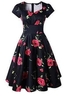 Vintage Inspired Dresses, Vintage Dresses, Floral Dresses, Pretty Dresses, Beautiful Dresses, Beautiful Things, Stylish Outfits, Cute Outfits, Dress Outfits