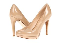 Cole Haan Chelsea High Pump Sandstone Patent - Zappos.com Free Shipping BOTH Ways