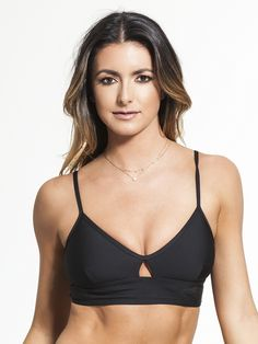 $80USD RUNNING BARE -Strike A Pose Bralette .This is one bralette that's for way more than just low-impact activities. With adjustable straps, removable cups, and a cool keyhole design on the front, you can feel secure knowing that everything's going to stay right where it needs to be.