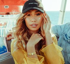 Mylifeaseva - Eva Gutowski - Its All Wild - Be Mine Collection - Après Surf Dad Hat