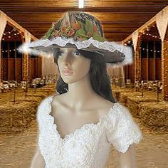 Mossy Oak Camo Cowboy Hat Wedding Veil by AVCustomDesigns, $180.00 https://www.etsy.com/listing/198410678/mossy-oak-camo-cowboy-hat-veil-cowgirl