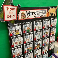 How to be a word detective Guided Reading Activities, First Grade Activities, Readers Workshop, Writer Workshop, Word Work, Word Study, Just Right Books, Read To Someone, Detective Theme