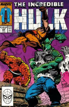 Incredible Hulk # 359 by John Byrne
