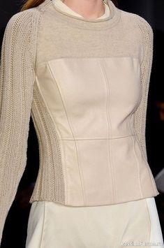 Knit Fashion, Fashion Sewing, Fashion Week, New York Fashion, Winter Fashion, Fashion Outfits, Womens Fashion, Fashion Trends, Costura Fashion
