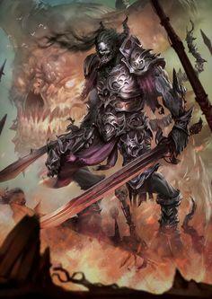 Demon Knight by BorisDigitalArtist