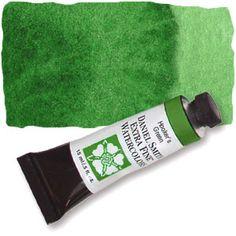Hooker's Green (PG36 PY3 PO49) 15ml Tube, DANIEL SMITH Extra Fine Watercolor