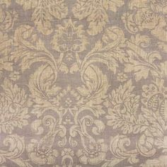 Metallic floral print on a sandy brown base cloth .Perfect for statement curtains, cushions or light upholstery. Curtain Fabric, Curtains, Fabric Jewelry, Upholstery, Floral Prints, Tapestry, Fabrics, Metal, Home Decor
