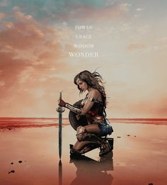 """★➚↫""""I used to want to save the world, this beautiful place. But the closer you get, the more you see the great darkness within.""""★➚↫_Wonder Woman_ ↬★➘"""