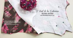 Patrón de costura gratis e instrucciones de confección Blusa cuello halter. Marcar las pinzas Sewing Tutorials, Sewing Projects, House Design, Blouse, Clothes, Tops, Women, Fashion, Sewing Ideas