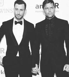 Ricky Martin conoció a Jwan Yosef en Instagram