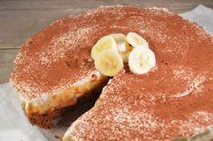 Banoffee taart met bastogne bodem Banoffee Pie, Tiramisu, Fruit Pie, Pie Cake, Trifle, Camembert Cheese, Cheesecake, Pudding, Breakfast