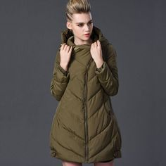 New Down Parka 2016 High Quality Warm Women Winter Jacket Solid Color Coat Long Wadded Thick Parka Female Jacket Plus Size 7XL