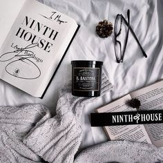 Photo by featuring the IL BASTONE candle, inspired by Ninth House by Leigh Bardugo Leigh Bardugo, Concept, Candles, Inspired, Cover, House, Home, Candy, Candle Sticks